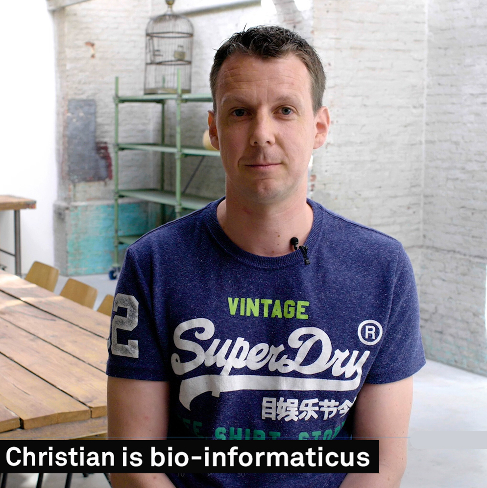 Christian is bio-informaticus